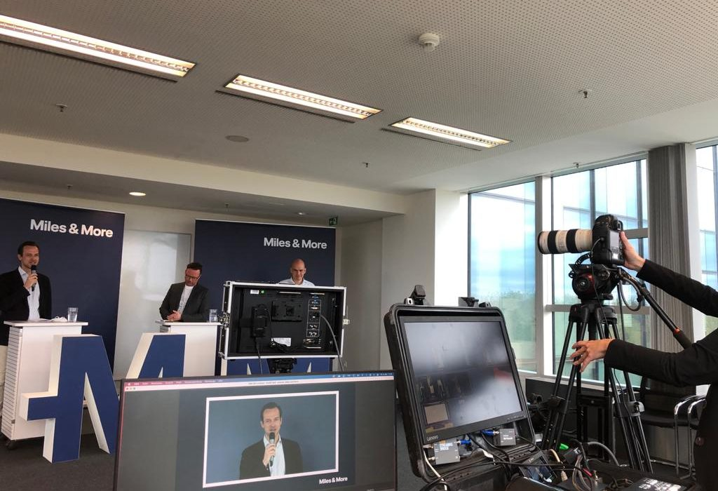 Online Livestream Frankfurt Equipment